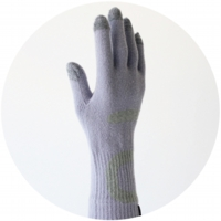 % GLOVES LINE Purple 80% Gray 20%
