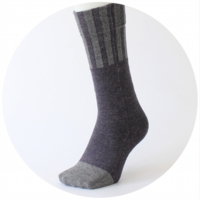 % SOCKS STRIPE Navy 70% Gray 30%