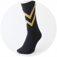 % SOCKS  LINE Black 80% Yellow 20%