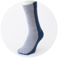% SOCKS BLOCK Blue 50% Light blue 50%