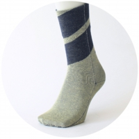 % SOCKS  CONNECT Green 70% Navy 30%