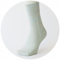 % SOCKS  CONNECT Light blue 90% Blue 10%