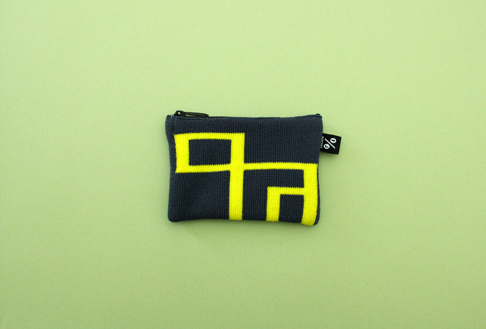 % POUCH CONNECT Navy 80% Yellow 20%