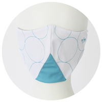 % COOL MASK CONNECT White 80% Bright blue 20%